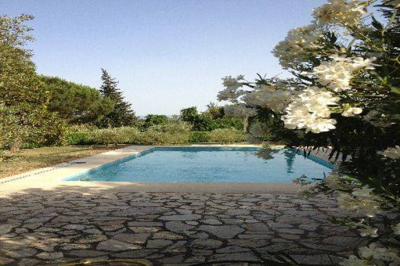 Location de vacances - Villa à Sarrians - 6m/ 5 profondeur 1m/ 2.50