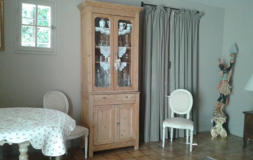 Location de vacances - Villa à Sarrians - coin salon