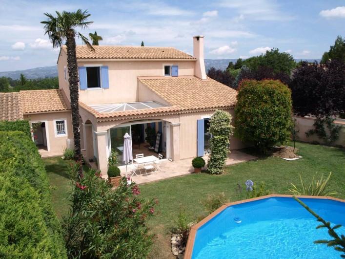 Location de vacances - Villa à Alleins - villa entre Alpilles et Luberon