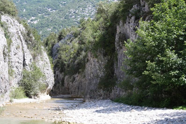 Location de vacances - Villa à Malaucène - Gorges du Toulourenc.