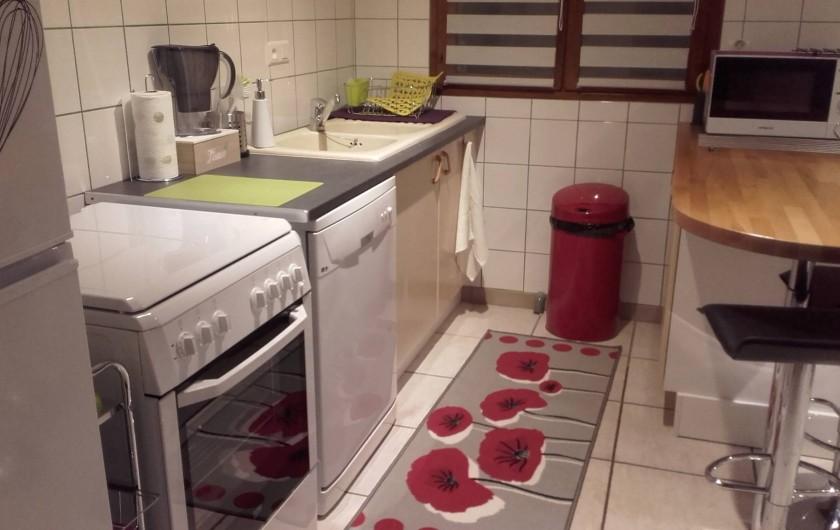 Location de vacances - Appartement à Loisy-sur-Marne - cuisine