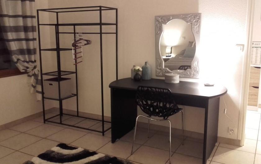 Location de vacances - Appartement à Loisy-sur-Marne - bureau chambre 2