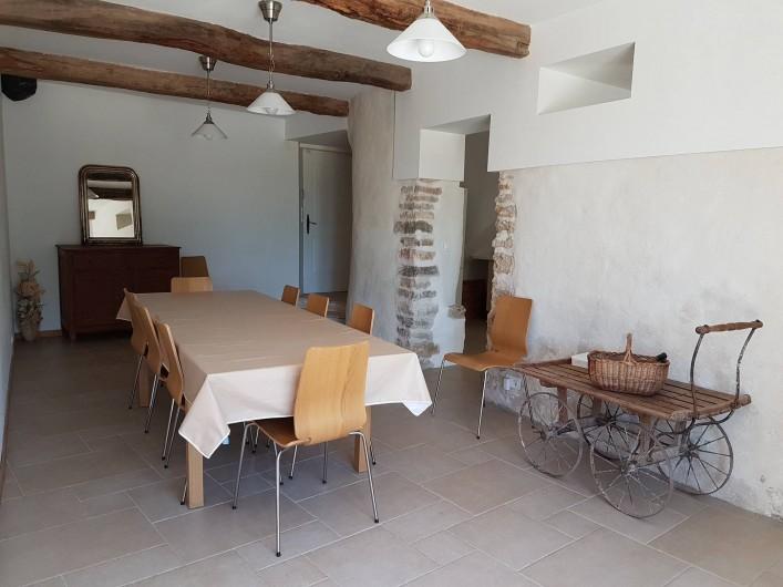 Location de vacances - Mas à Lorgues - Salle à manger