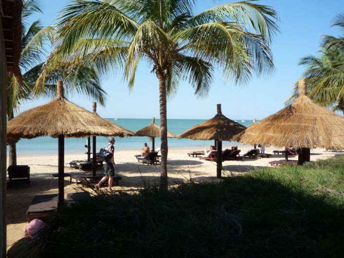 Location de vacances - Villa à Saly - Plage