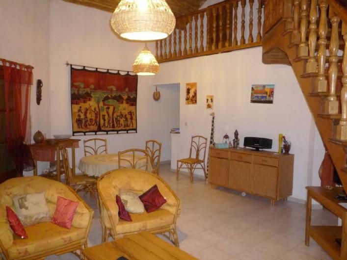 Location de vacances - Villa à Saly - Séjour