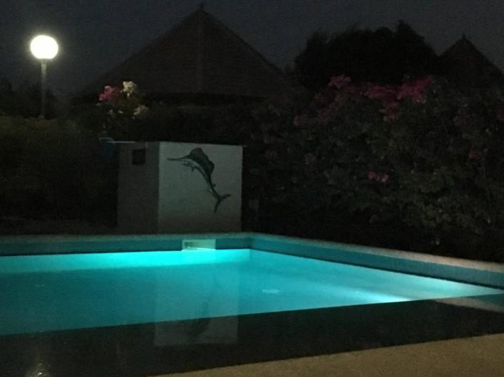 Location de vacances - Villa à Saly - Piscine de nuit