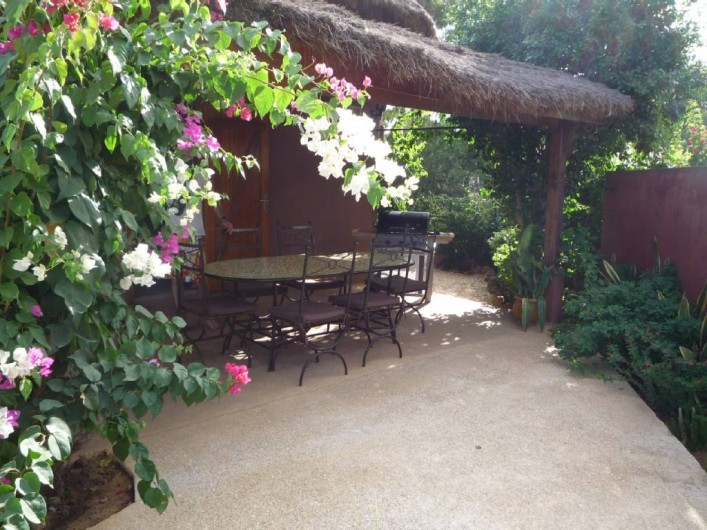 Location de vacances - Villa à Saly - Terrasse devant