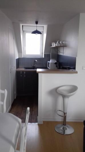 Location de vacances - Appartement à Fécamp - CUISISNE