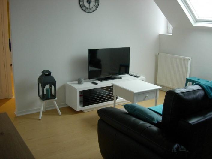 Location de vacances - Appartement à Fécamp - SALON