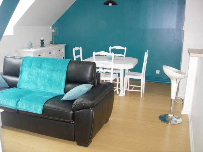 Location de vacances - Appartement à Fécamp - SALLE / SALON