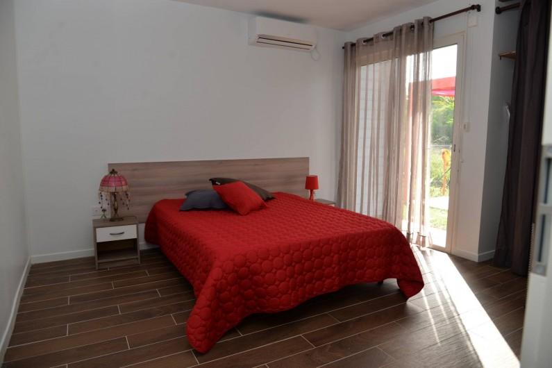 Location de vacances - Appartement à Sainte-Anne - Chambre cerise