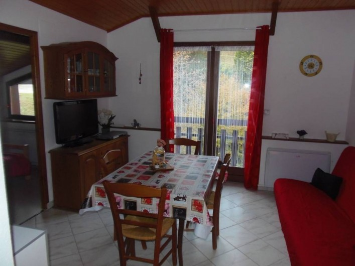 Location de vacances - Appartement à Bussang - Séjour