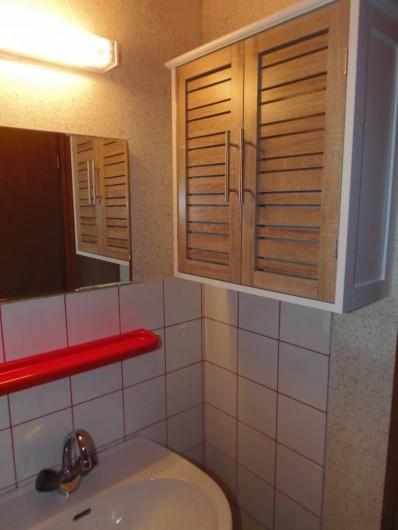 Location de vacances - Appartement à Bussang - Salle de bain