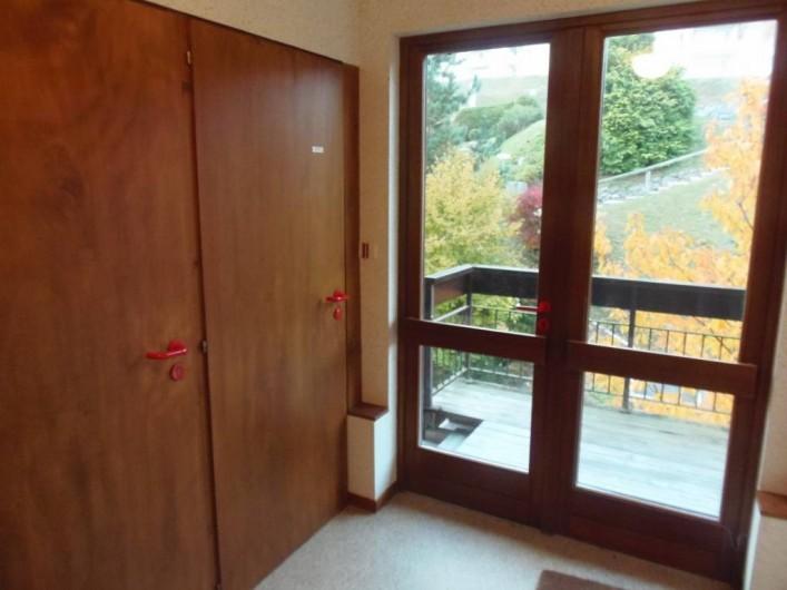 Location de vacances - Appartement à Bussang - Hall d'entrée