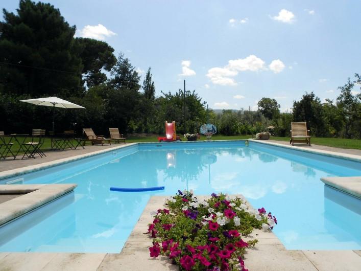 Location de vacances - Gîte à Viterbo - La piscine