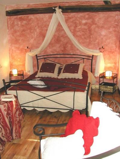 Location de vacances - Chambre d'hôtes à Noizay - Coquelicot