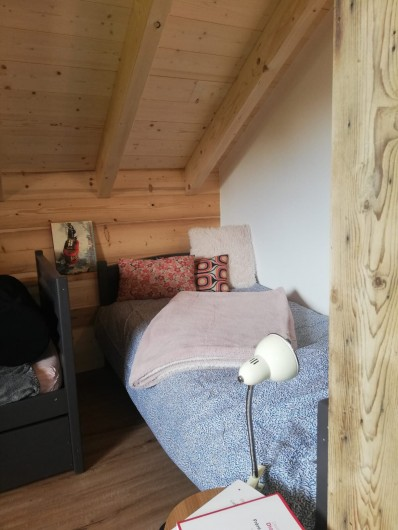 Location de vacances - Chalet à Morillon - Chambre cosy