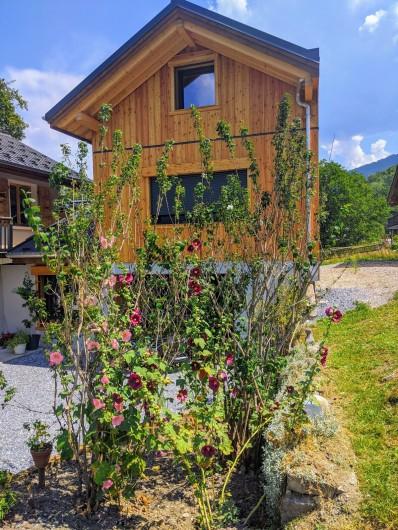 Location de vacances - Chalet à Morillon - En fleur
