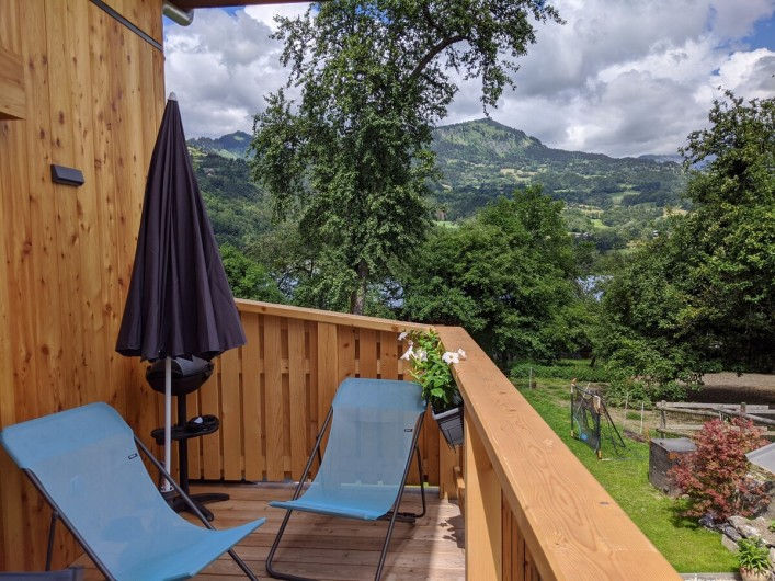 Location de vacances - Chalet à Morillon - Vue sur La Bourgeoise