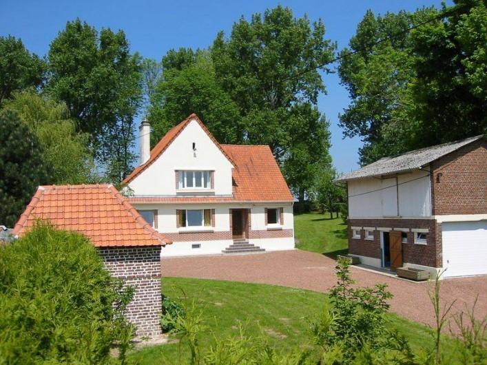 Location de vacances - Gîte à Vacqueriette-Erquières