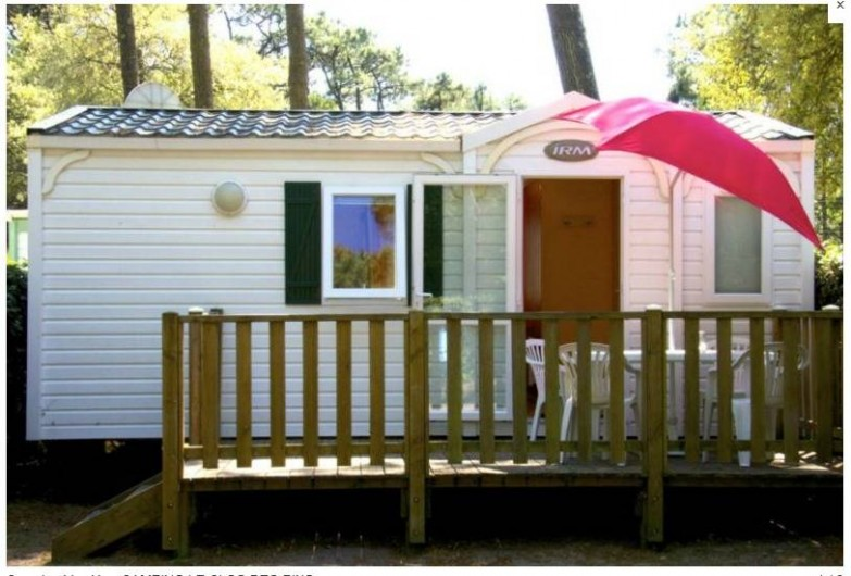 Location de vacances - Camping à Longeville-sur-Mer - Mobile-home Mayotte