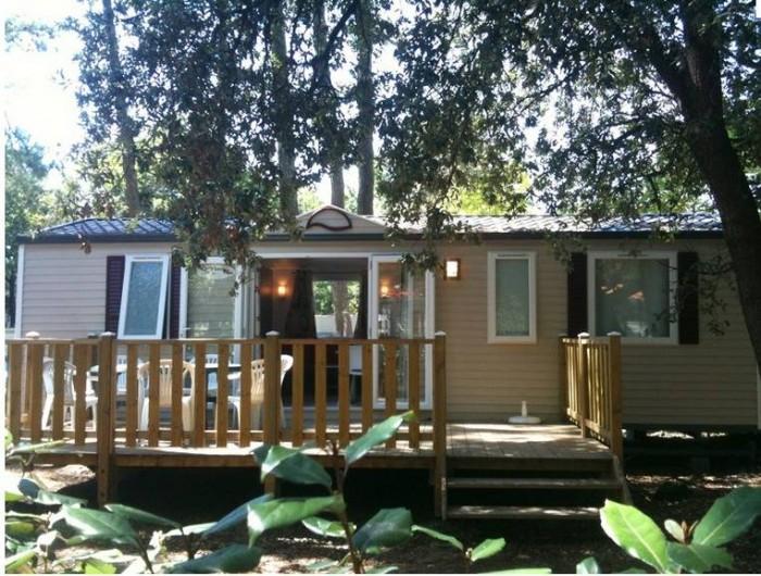 Location de vacances - Camping à Longeville-sur-Mer - Mobile-home Canaries