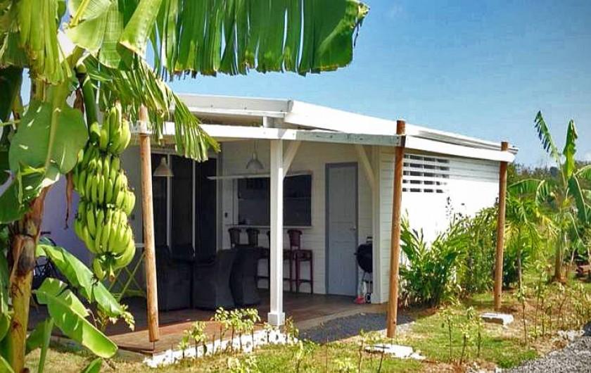 Location de vacances - Gîte à Saint-François - Gîtes la simoniere : bungalow Fam