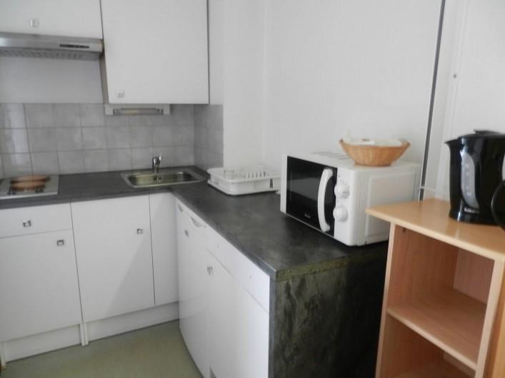 Location de vacances - Studio à Brides-les-Bains - Nouvelle cuisine installée en 2017