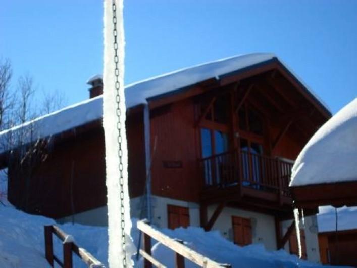 Location de vacances - Chalet à Montalbert - Chalet Le Bleuet