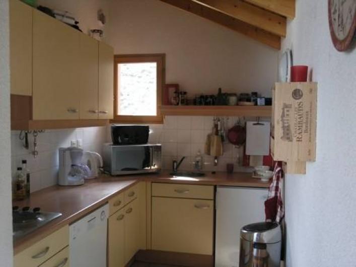 Location de vacances - Chalet à Montalbert - Cuisine