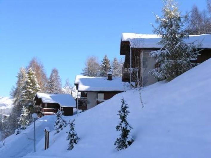 Location de vacances - Chalet à Montalbert - Chalets Pierra Menta