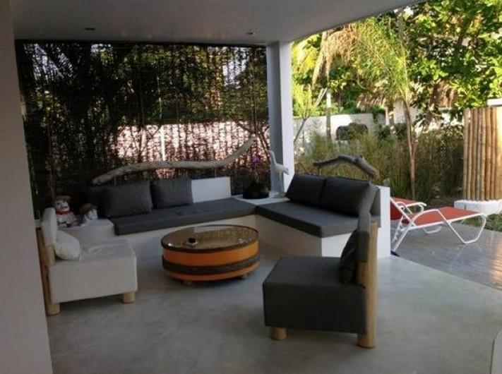 Location de vacances - Villa à Las Terrenas - salon terrasse