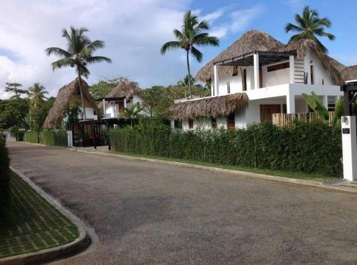 Location de vacances - Villa à Las Terrenas - acces residence
