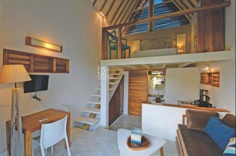 Location de vacances - Villa à Las Terrenas - interieur bungalow complete