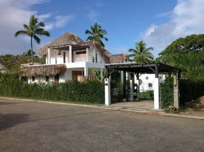 Location de vacances - Villa à Las Terrenas - vue exterieure