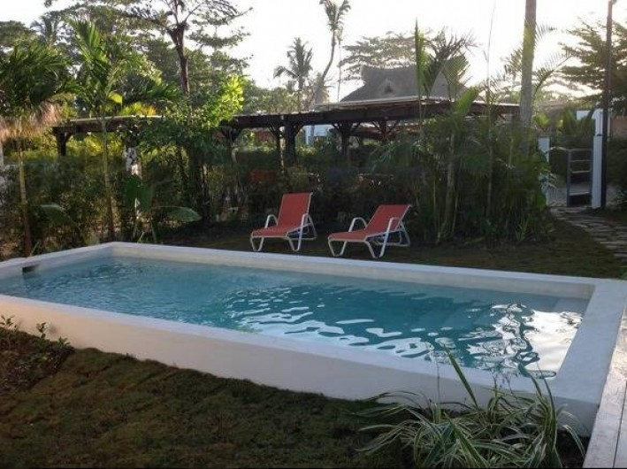 Location de vacances - Villa à Las Terrenas - piscine privée