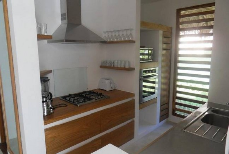 Location de vacances - Villa à Las Terrenas - cuisine