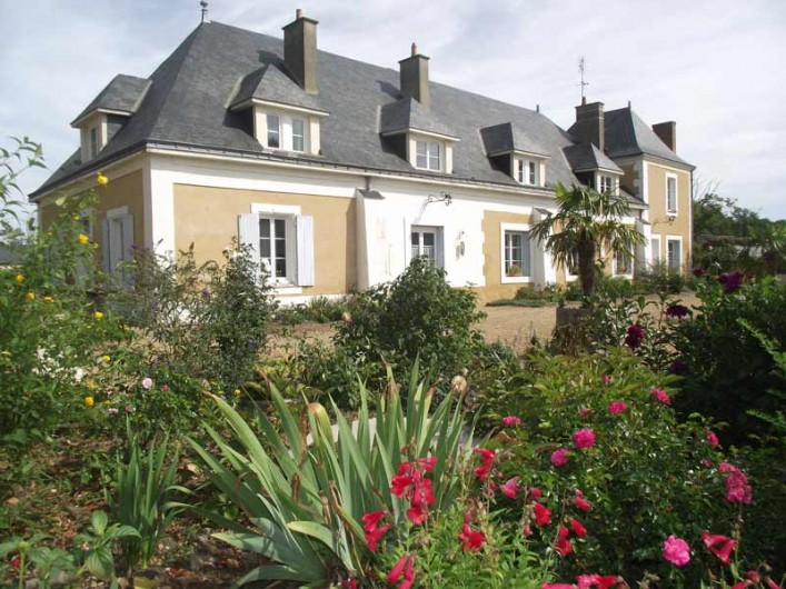 Location de vacances - Château - Manoir à Aubigné-Racan - Manoir du Gravier