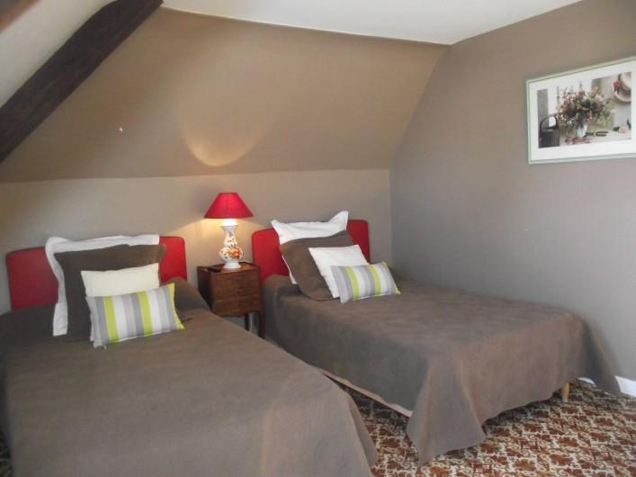 Location de vacances - Château - Manoir à Aubigné-Racan - Chambre Pommier