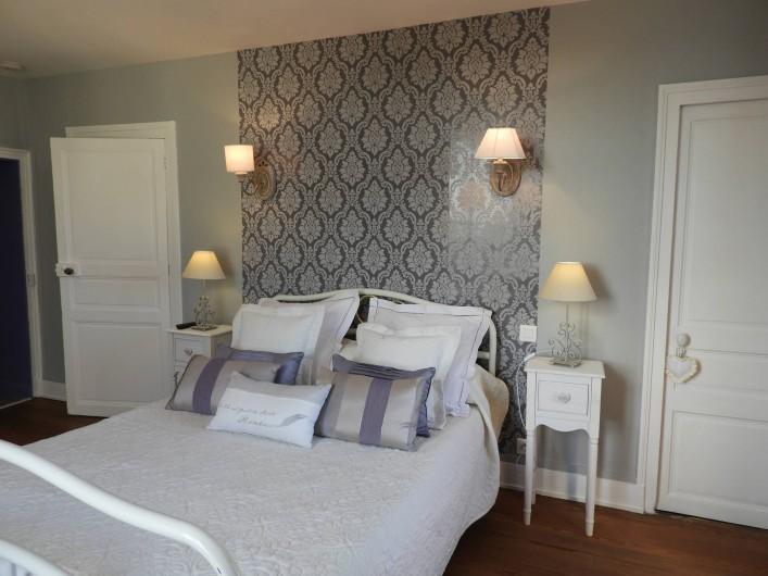 Location de vacances - Château - Manoir à Aubigné-Racan - Chambre Pêcher