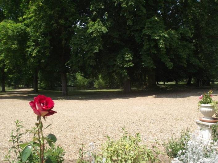 Location de vacances - Château - Manoir à Aubigné-Racan - Aperçu du parc