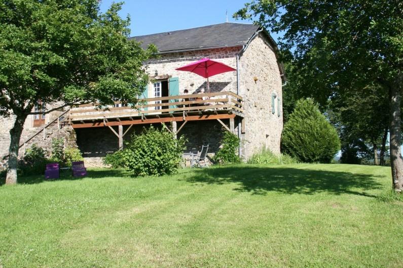 Location de vacances - Gîte à Lacam-d'Ourcet - L'été 2016.