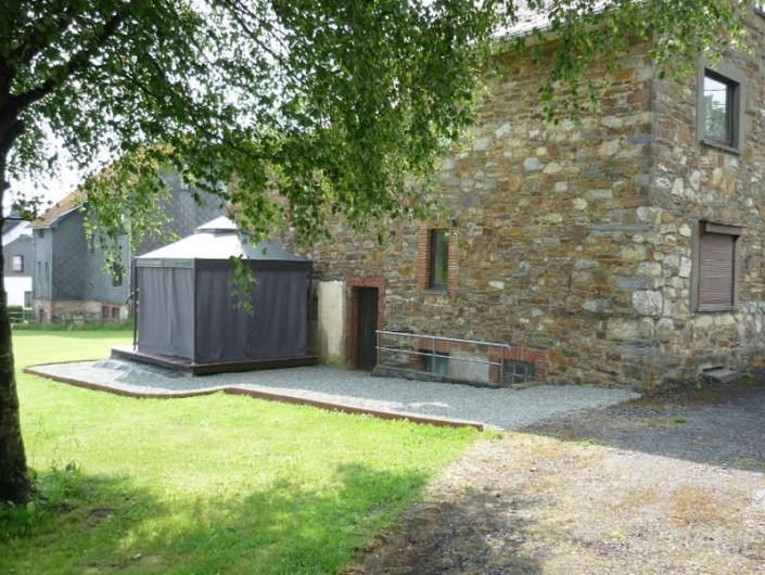 Location de vacances - Maison - Villa à Amblève - Terasse - Jardin