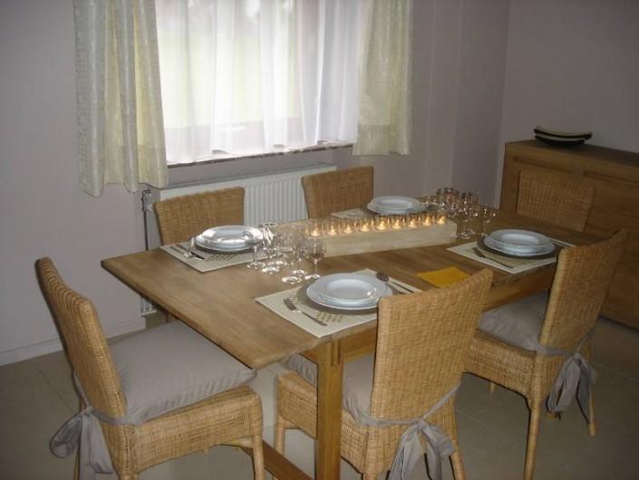 Location de vacances - Maison - Villa à Amblève - Salle à manger