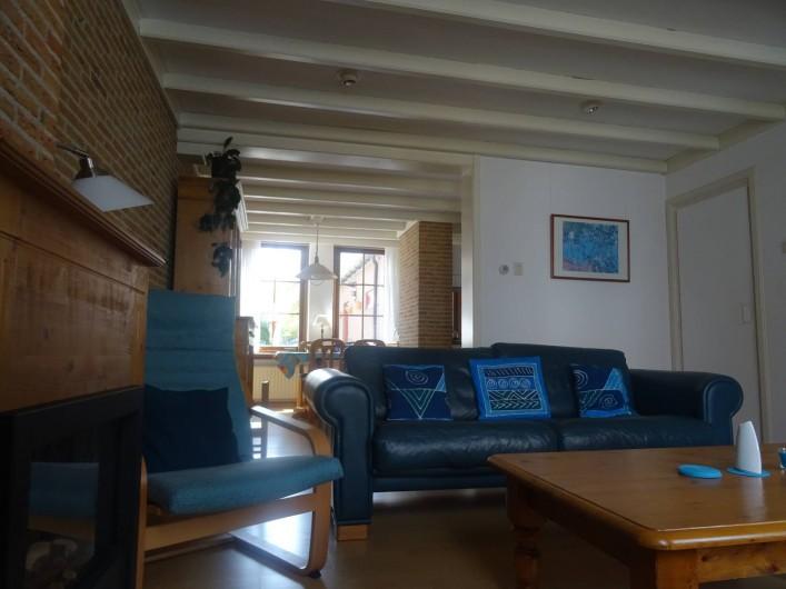 Location de vacances - Maison - Villa à Nieuwvliet - salon
