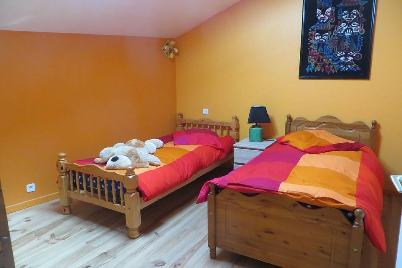 Location de vacances - Gîte à Comus - la chambre orange