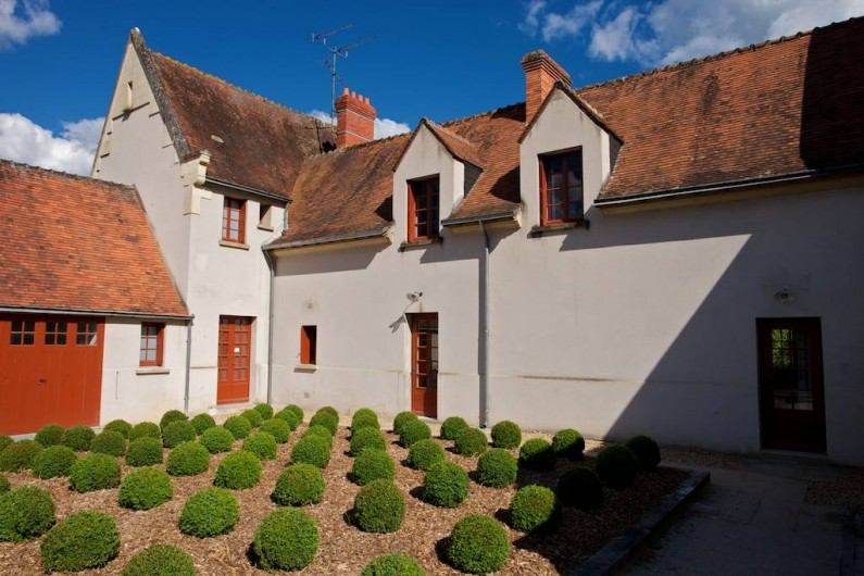 Location de vacances - Gîte à Chambord - Gîte Cerf - entrée extérieure