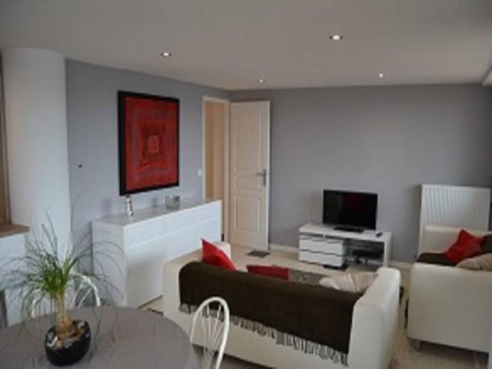 Location de vacances - Appartement à Boulogne-sur-Mer - sejour