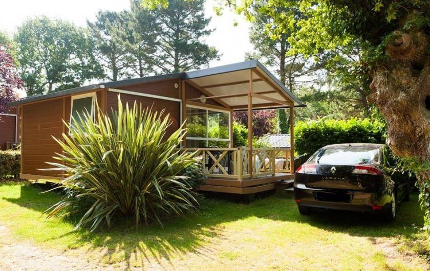 Location de vacances - Camping à Bénodet - Le chalet Le Trianon 2