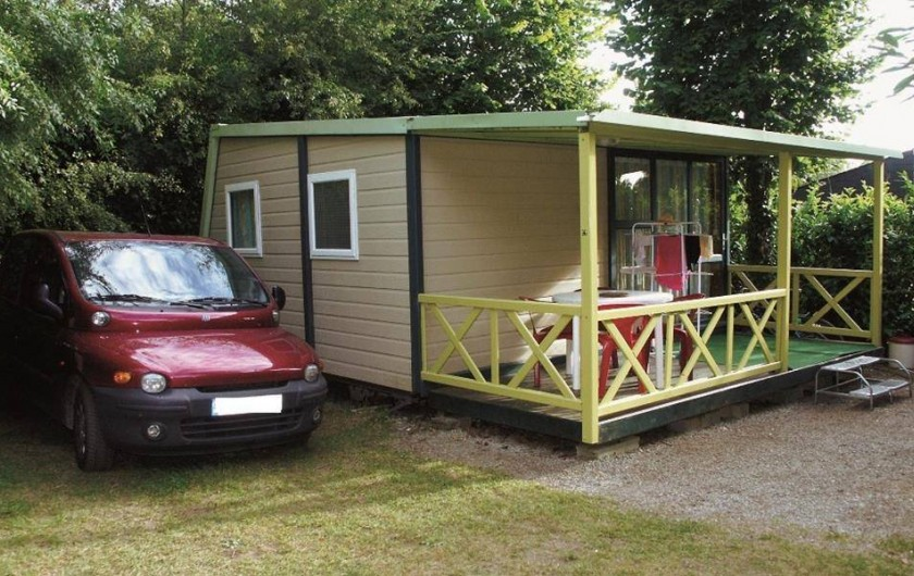 Location de vacances - Camping à Bénodet - Le chalet Le Campeco